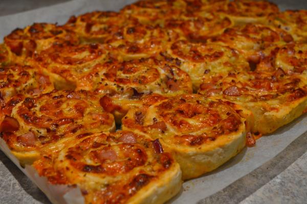 Pizzasnurrer med havregryn