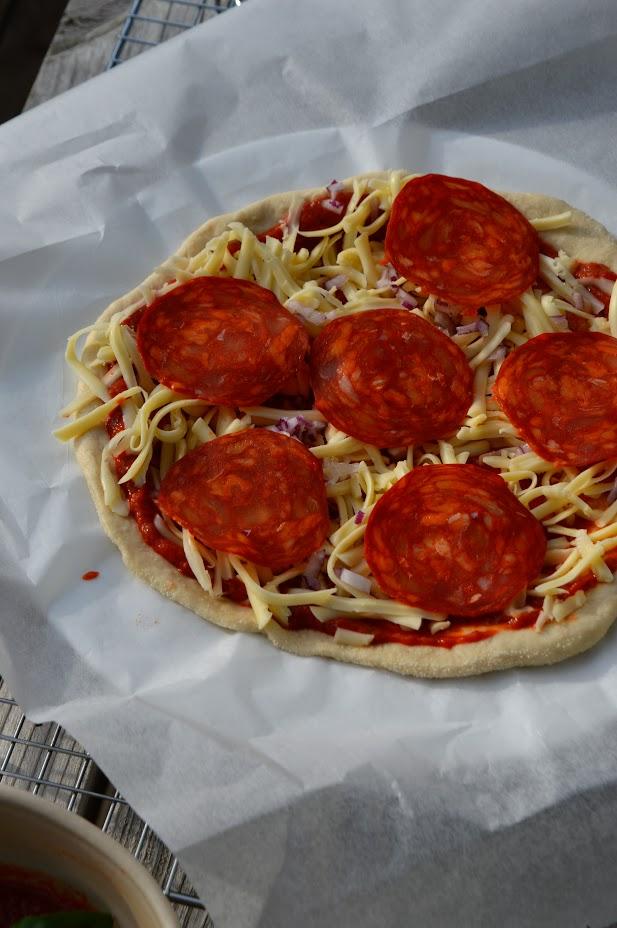 Rød pizzasaus